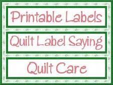 Quilt Label Templates by Free Quilt Patterns From Victoriana Quilt Designs Plus