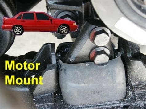 volvo    front motor mount   side auto information series youtube