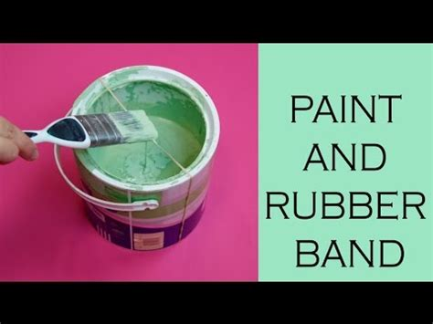 hack and paint hacks paint pot and rubber band