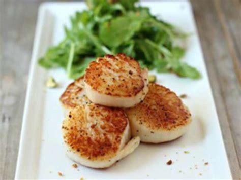 cuisiner noix de st jacques surgel馥s recettes de noix de jacques