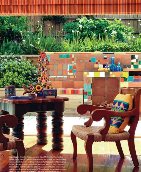Mexican Garden Decor 1000 Images About Mexican Patio On Pinterest Mexican