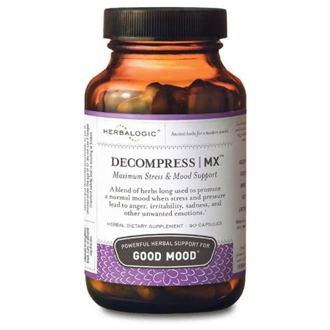 herbal supplements for mood swings herbal mood stabilizers decompress mx caps 30 ct