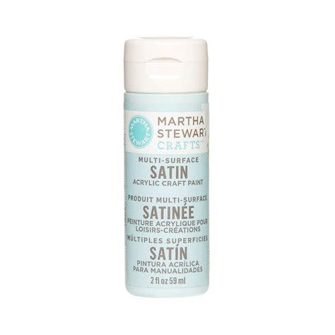 martha stewart crafts 2 oz summer multi surface satin acrylic craft paint 32023 the home