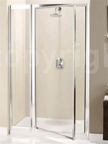 pivot shower doors simpsons supreme 1000mm pivot shower door with inline panel