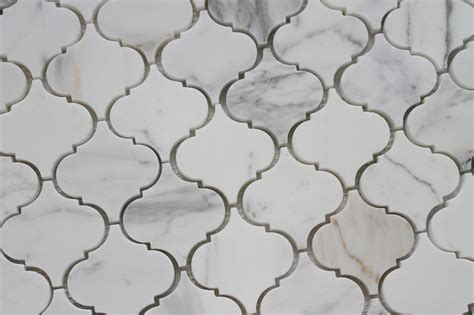 gold arabesque tile calacatta gold polished marble arabesque mosaic tiles