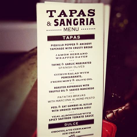 excellent menu for a tapas sangria party party decor