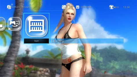 ps4 hot themes doa hot summer rachel theme on ps4 official playstation