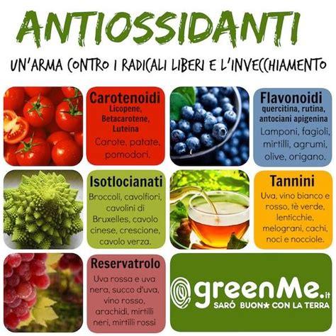 alimenti pelle antiossidanti naturali 10 cibi contro radicali liberi e