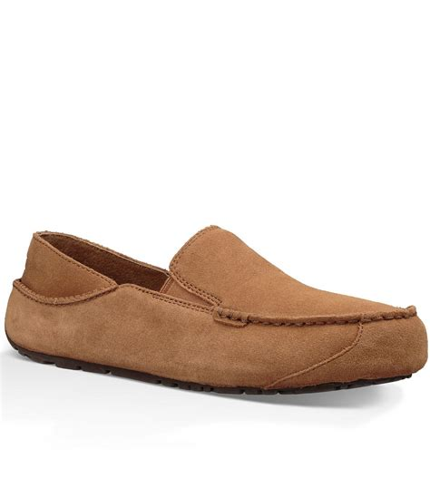 ugg loafers for lyst ugg 174 s upshaw loafers in brown for