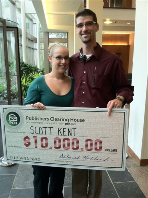 Lucky 7 S Publishers Clearing House - an unexpected wedding present from publishers clearing house pch blog