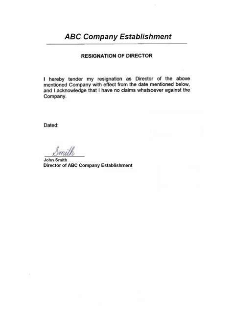 Resignation Letter Format Pharma Company Liechtenstein Anstalt Offshore Zones Offshore And International Gsl
