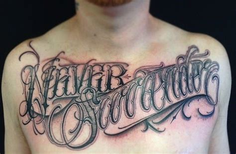big meas tattoo artwork by big meas lettering so myworldofink
