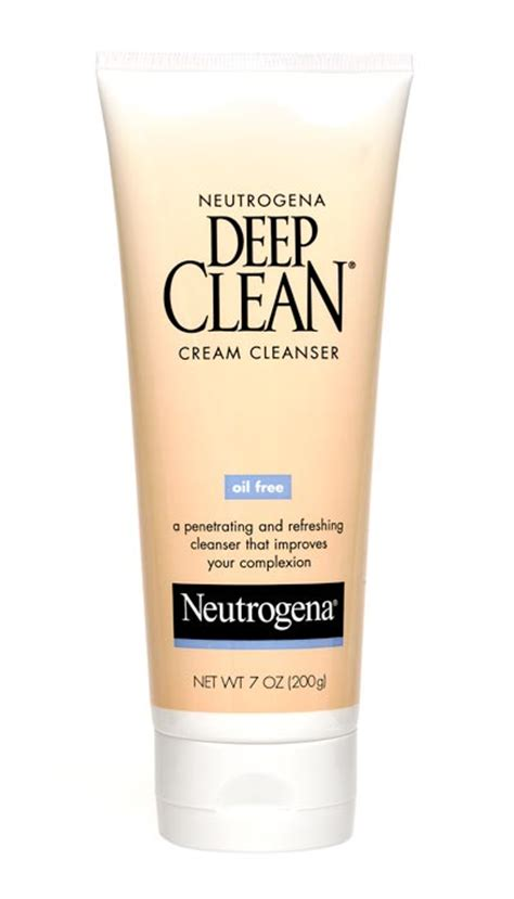 amazon deep cleaning amazon com neutrogena oil free deep clean cream cleanser