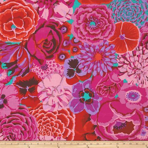 kaffe fassett home decor fabric kaffe fasset collective bekah magenta discount designer