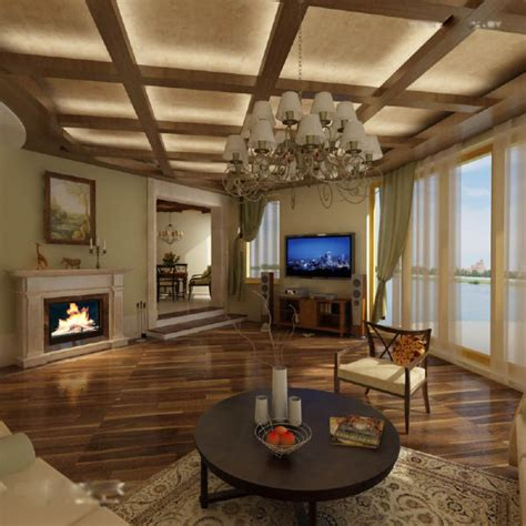 Wood False Ceiling Designs For Living Room Living Room Ceiling Designs
