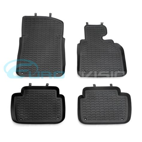 Bmw 335i Floor Mats by Bmw 3 Series E46 Sedan Coupe Rubber Interior Floor Mats Ebay