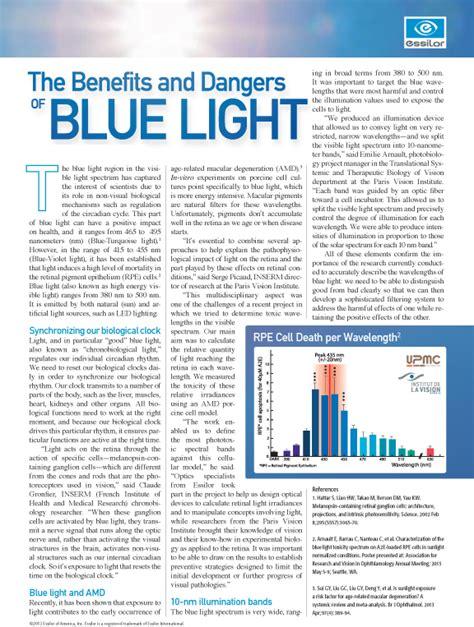 dangers of blue light the benefits and dangers of blue light points de vue