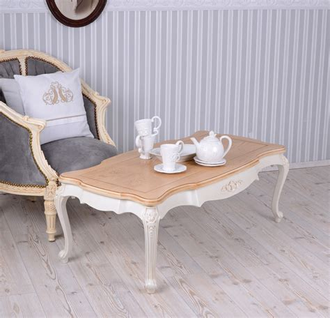 living room table villa vintage coffee table white table