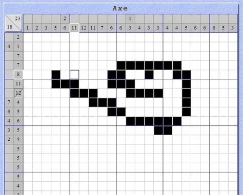 printable japanese puzzle pin nonogram puzzles to print on pinterest