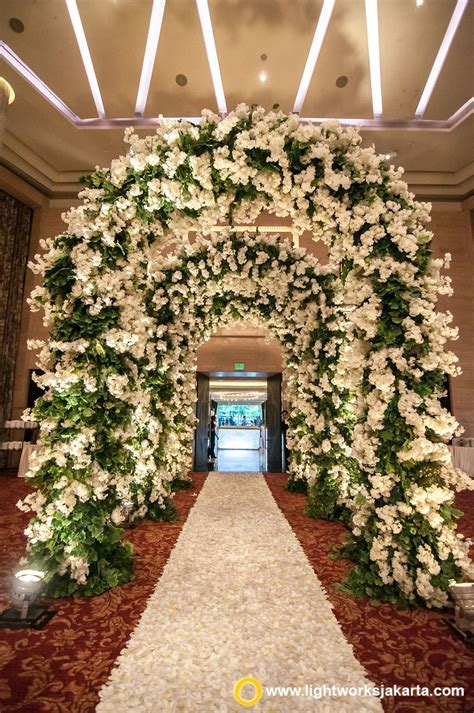 Beautiful wedding gate, created by Lotus Design with