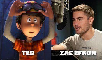 zac efron voice actor actores y sus personajes animados im 225 genes taringa