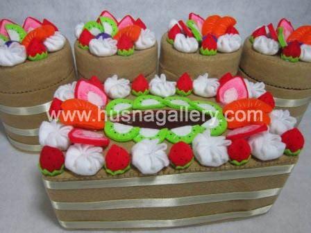 Set Kotak Tissue Dan Hias 1 pp 28 tempat tissue hias kain flanel coklat