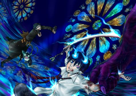 anime wallpaper blue exorcist blue exorcist wallpaper and background image 1753x1240