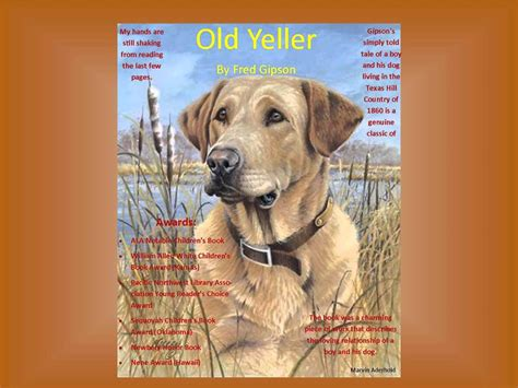 book report on yeller fred gipson trailers photos