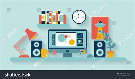 design windows icon flat design vector illustration modern office stock vector