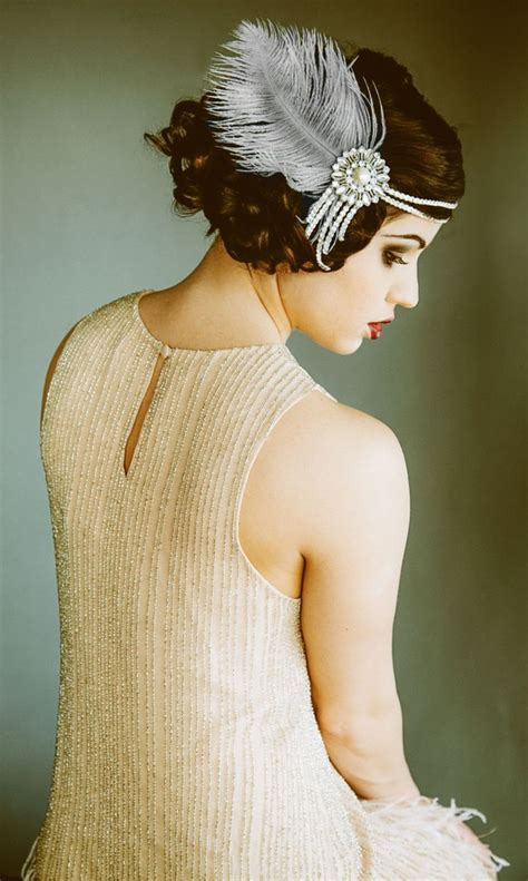 How To Make A 1920s Hairpiece | 17 best ideas about flapper headband on pinterest