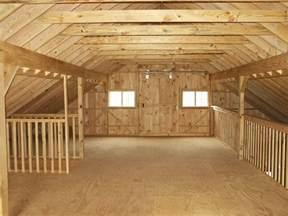 Barn Plans With Loft Barn Loft Construction Building Garage Loft