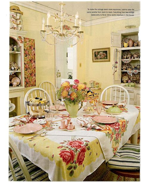 cottage style dining room these rooms home ideas