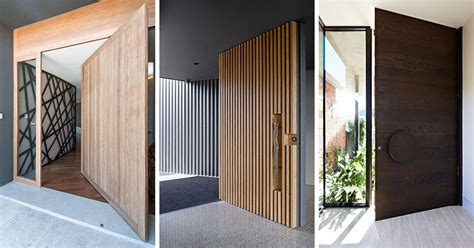 modern house door these 13 sophisticated modern wood door designs add a warm