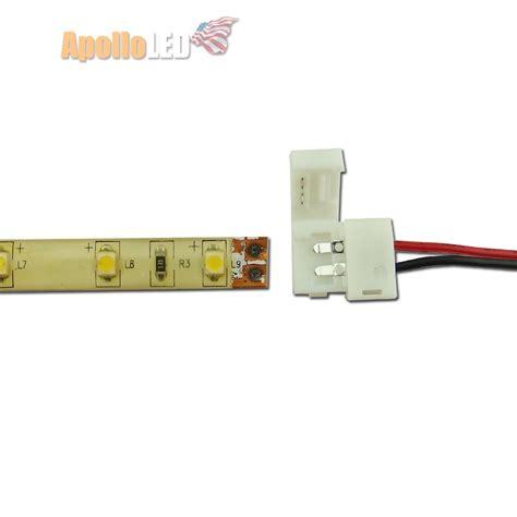 5pcs Quick Connectors With Wiring For Single Color 3528 Wiring Led Light Strips