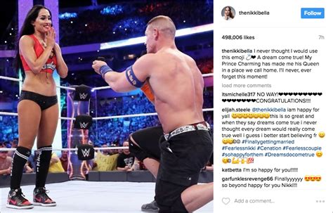 nikki bella john cena engaged our predictions for the wedding of wwe stars nikki bella