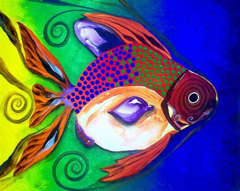 il pesce volante il pesce volante 2 the flying fish 2 painting by j