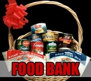 donate to local food bank lending a helping