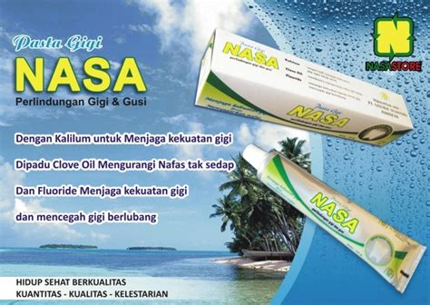 Pasta Gigi Nasa Di Bandung jual pasta gigi nasa nusantara nasa store