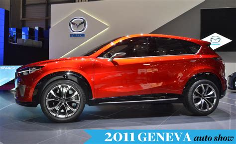 new mazda vehicles mazda minagi concept previews cx 5 small crossover new