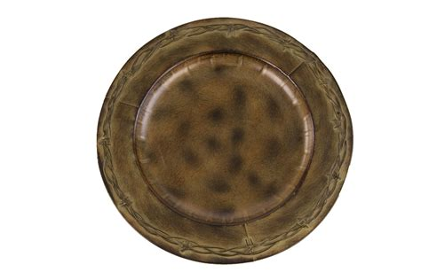 rustic charger plates pungo ridge 4 rustic barbed wire charger