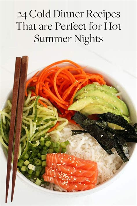 cold recipes 25 best ideas about cold summer dinners on pinterest