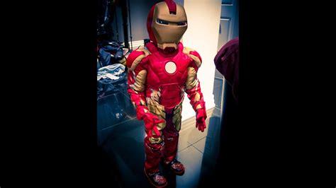 iron man costume disney store age ultron video