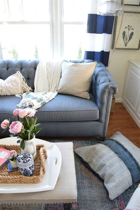 decorating with denim best 25 denim sofa ideas on pinterest
