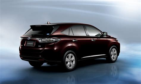 is toyota japanese toyota reveals new harrier suv in japan video