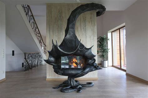 20 Of The Coolest Fireplaces Ever Bored Panda Cool House Plans With Fireplace