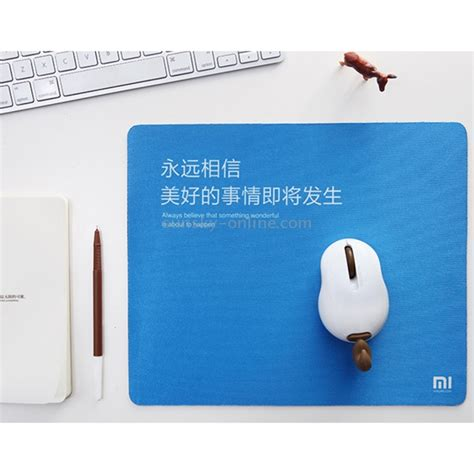 Xiaomi Aluminium Mouse Pad Slim Original Size S Berkualitas sunsky original xiaomi mi culture series soft anti slip