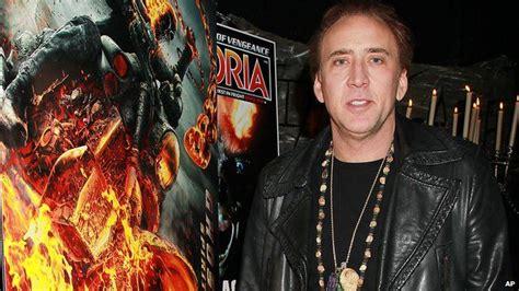 aktor film ghost rider nicolas cage latest ghost rider film not a sequel bbc