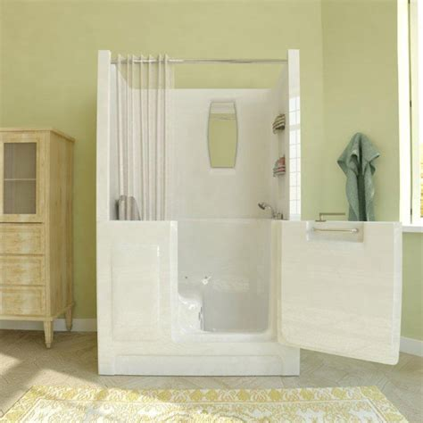 Walk In Bathtub With Shower by Walk In Tubs And Showers The Best Useful Reviews Of Shower Stalls Enclosure Bathtubs And