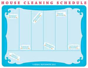 schedule cleaning new calendar template site