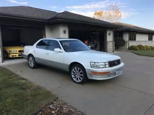Lexus 400 Ls Lexus Ls 400 White With Beige Leather Only 127k